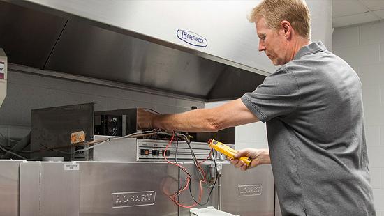 Commercial Kitchen Repair Service
